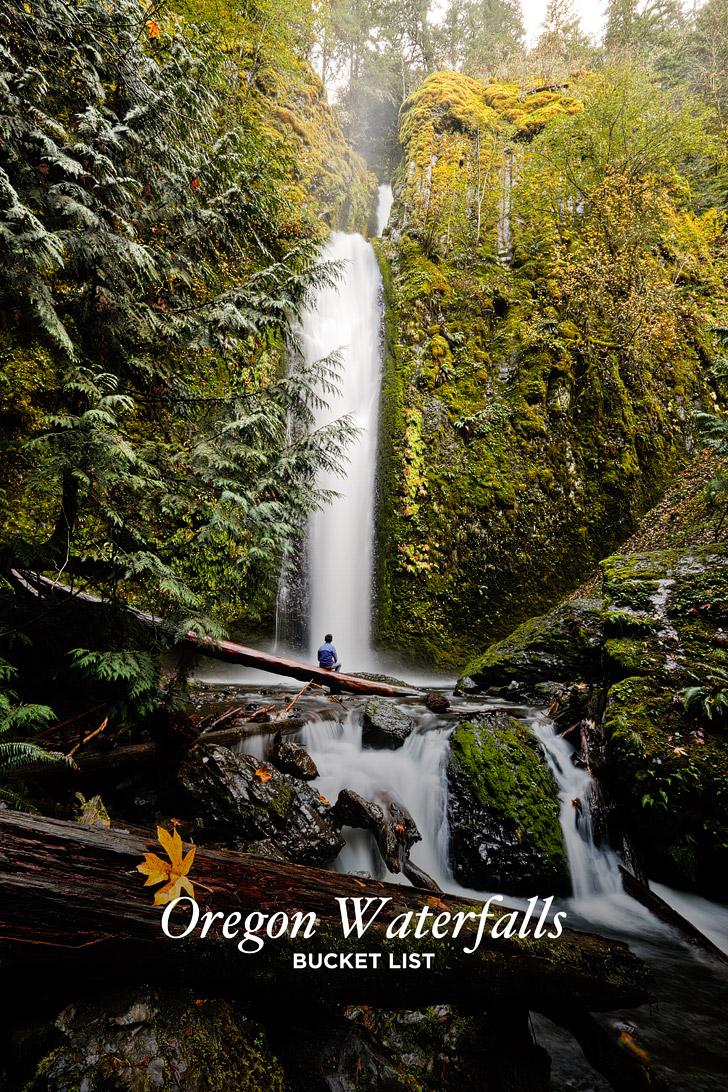 Ultimate List Of Waterfalls In Oregon Bucket List Local - Waterfalls in oregon map