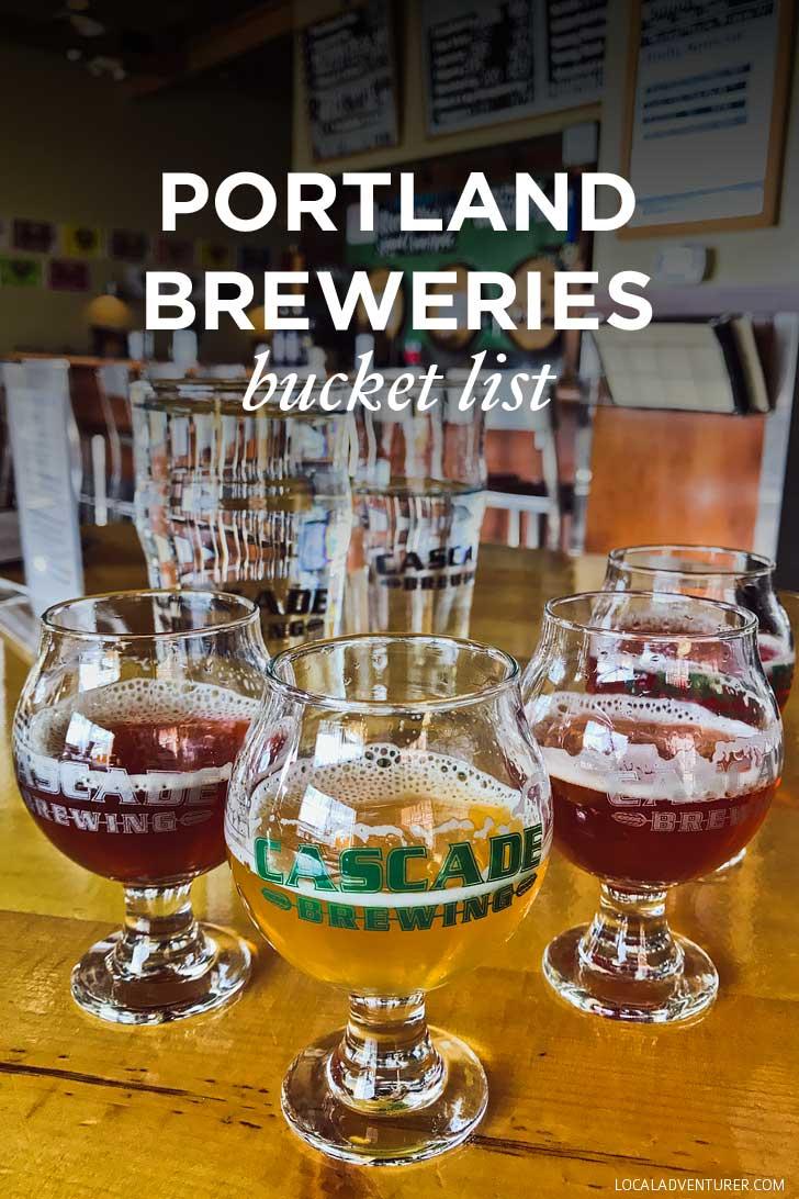 The Ultimate Portland Breweries Bucket List // localadventurer.com
