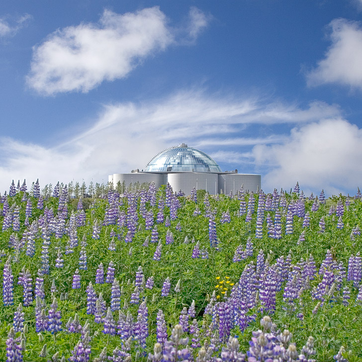 Perlan or the Pearl in English is a five-story complex is full of attractions in Reykjavik // localadventurer.com