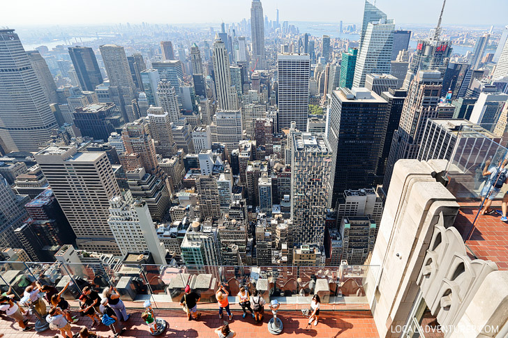 Lovely Views of New York from the Rockefeller Observation Deck // localadventurer.com
