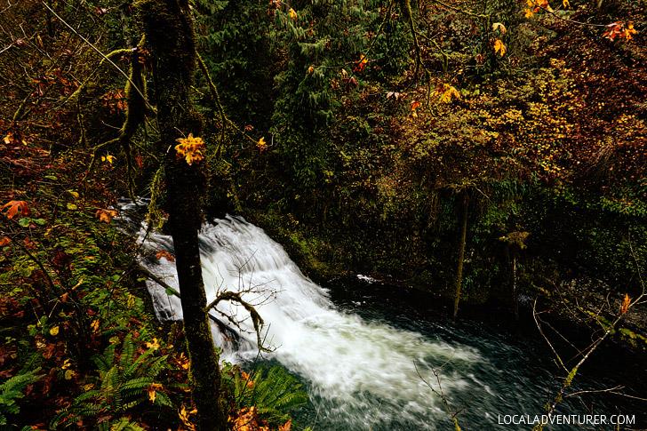Drake Falls - Trail of Ten Falls - Oregon Waterfall Hikes // localadventurer.com