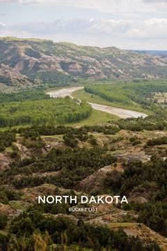 Things to Do in North Dakota Bucket List // localadventurer.com