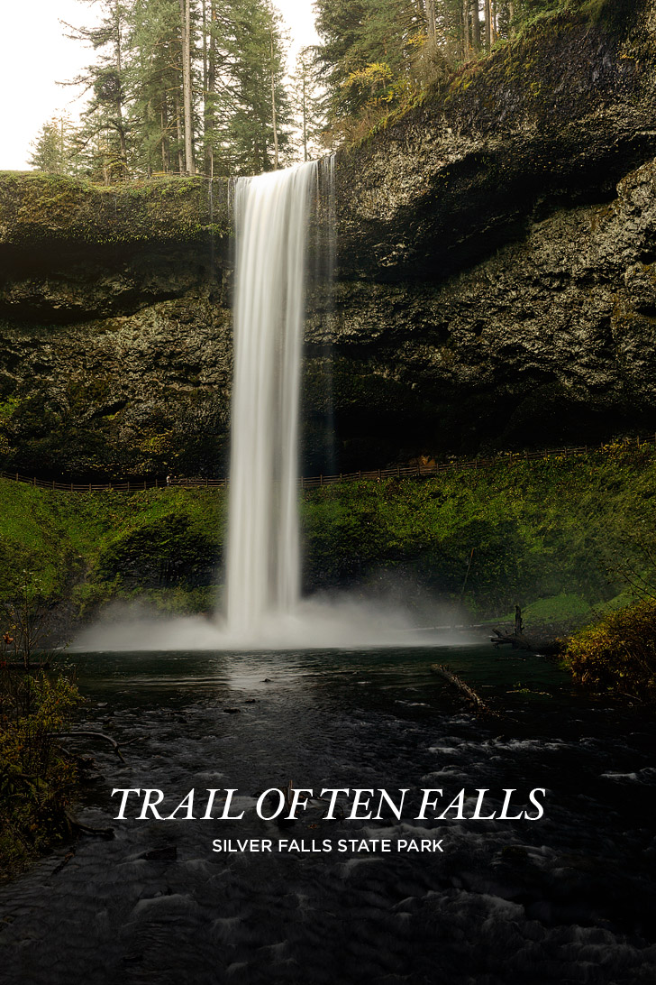 Trail of Ten Falls Hiking Guide  Silver Falls State Park