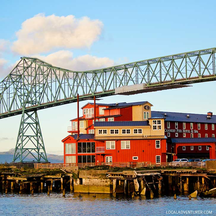 Cannery Pier Hotel (15 Unique Things to Do in Astoria Oregon) // localadventurer.com
