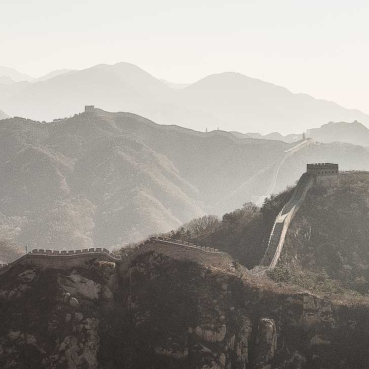 The Great Wall of China (101 Things to Do in Beijing China - the Ultimate Beijing Bucket List - from the touristy spots everyone has to do at least once to the spots a little more off the beaten path) // localadventurer.com