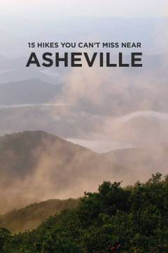The hikes near Asheville NC are some of the best in Eastern United States. The trails are what brings a lot of people to town and convinces many of them to stay // localadventurer.com