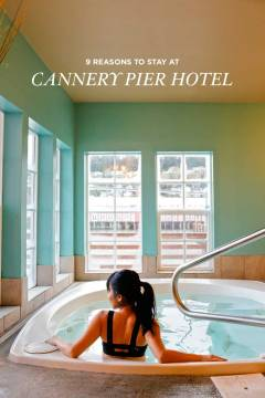 The Cannery Pier Hotel is in our opinion the best place to stay in Astoria Oregon // localadventurer.com