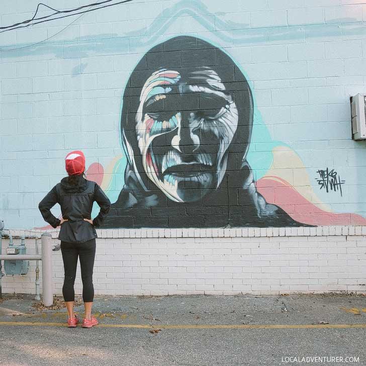 Daggits Pawn Shop Mural (Best Instagram Spots in Asheville NC) // localadventurer.com