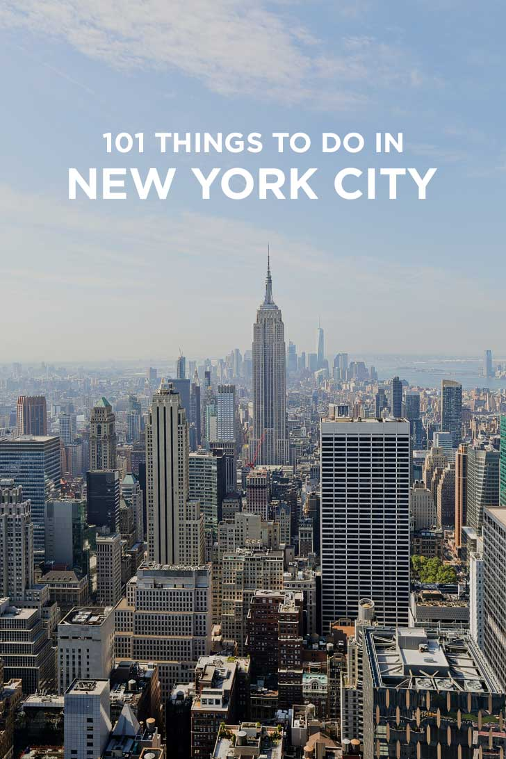 Ultimate new york city bucket list 101 things to do in nyc for Places to see in ny city