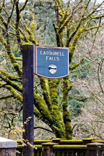 Latourell Falls at Guy Talbot State Park is the first waterfall you'll come across as you enter the Columbia Gorge from Portland. It's an easy waterfall hike and only 30 minutes away from the city. // localadventurer.com