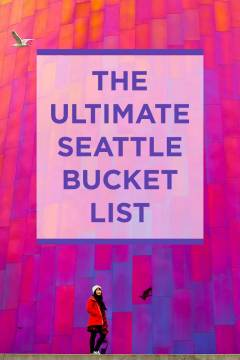 The Ultimate Seattle Bucket List - from the popular spots everyone has to do at least once to the spots a little more off the beaten path. // localadventurer.com