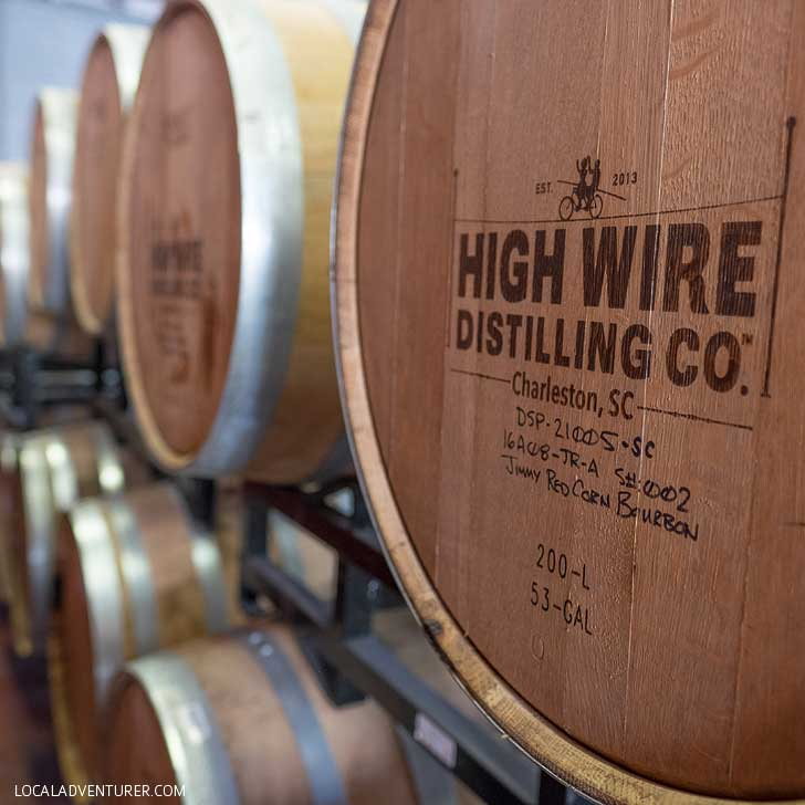 High Wire Distilling Co + The Ultimate Charleston Bucket List (101 Things to Do in Charleston SC) // localadventurer.com