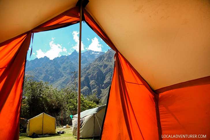 Hiking to Machu Picchu - Guide to the Inca Trail Day 1 // localadventurer.com