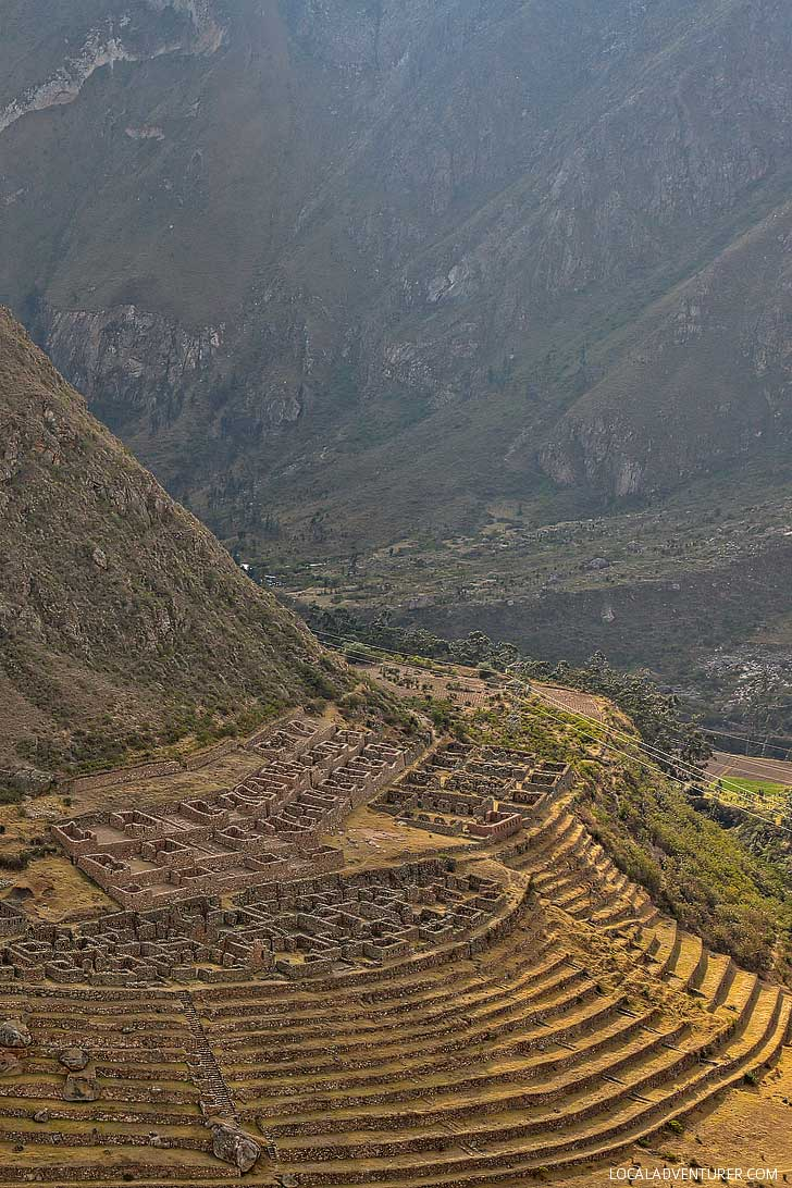 Llactapata Inca Ruins Peru - En Route to Machu Picchu // localadventurer.com