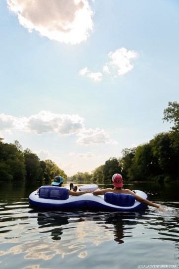 Shoot the Hooch - A favorite summer activity in Atlanta is to go tubing down the Chattahoochie River // localadventurer.com // localadventurer.com