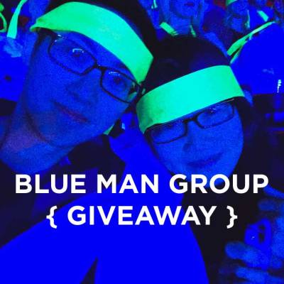 The Blue Man Group Las Vegas Show + Enter to Win Free Tickets // localadventurer.com