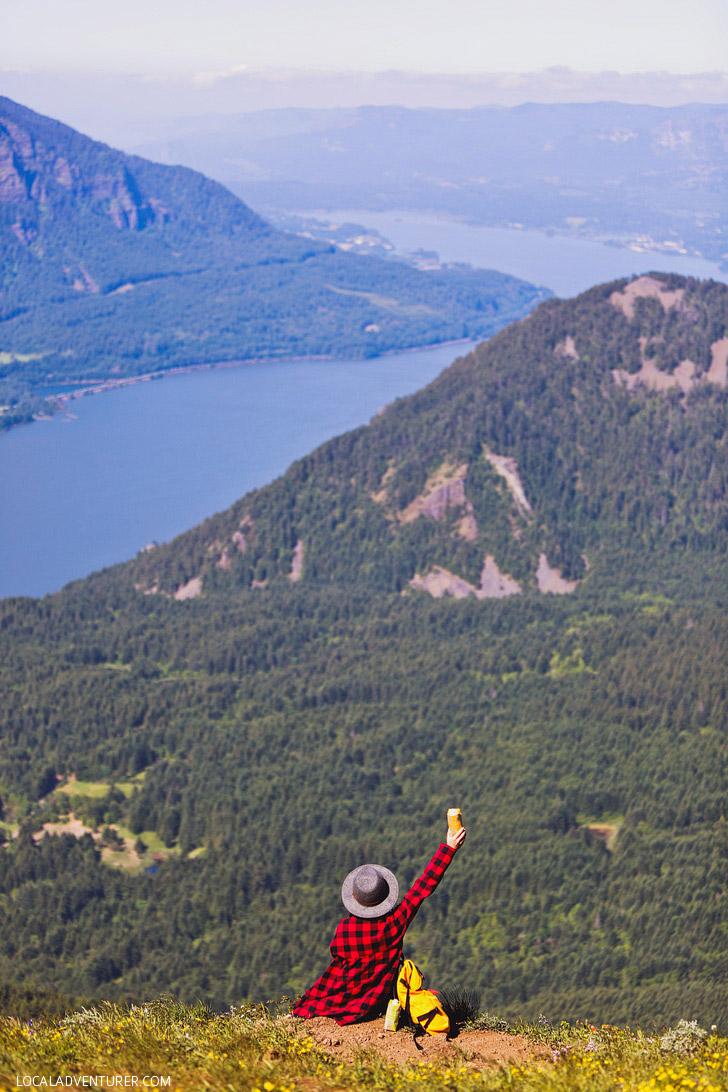 Dog Mountain Hike, Columbia River Gorge, Washington + 15 Amazing Wildflower Hikes in the Pacific Northwest // localadventurer.com