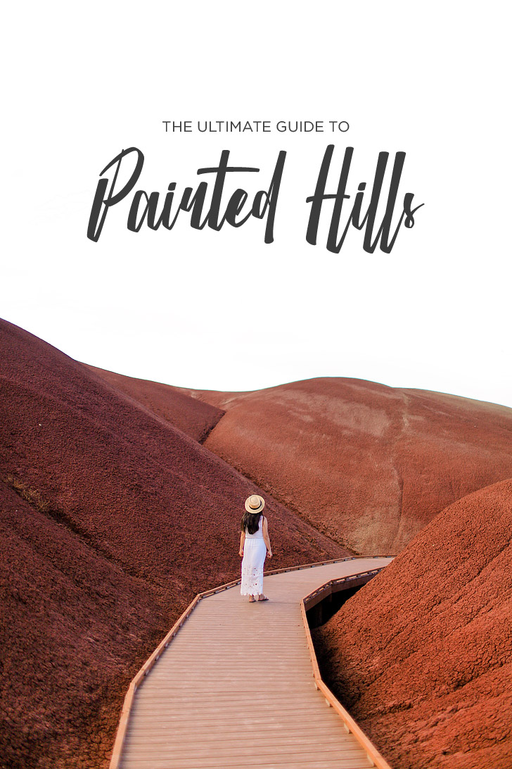 The Ultimate Guide to the Painted Hills Oregon - best hikes, best things to eat, see, and where to stay near the park // localadventurer.com