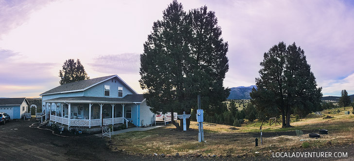 The Victorian Lane Bed and Breakfast in John Day Oregon // localadventurer.com