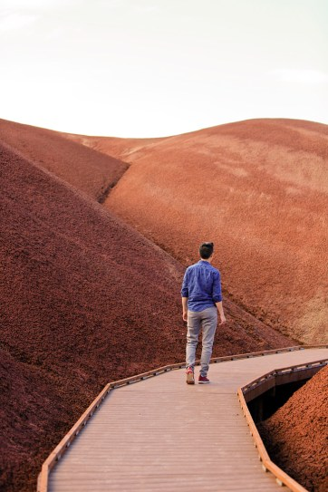 Painted Cove Trail, Painted Hills Unit, John Day Fossil Beds National Monument, Eastern Oregon // localadventurer.com