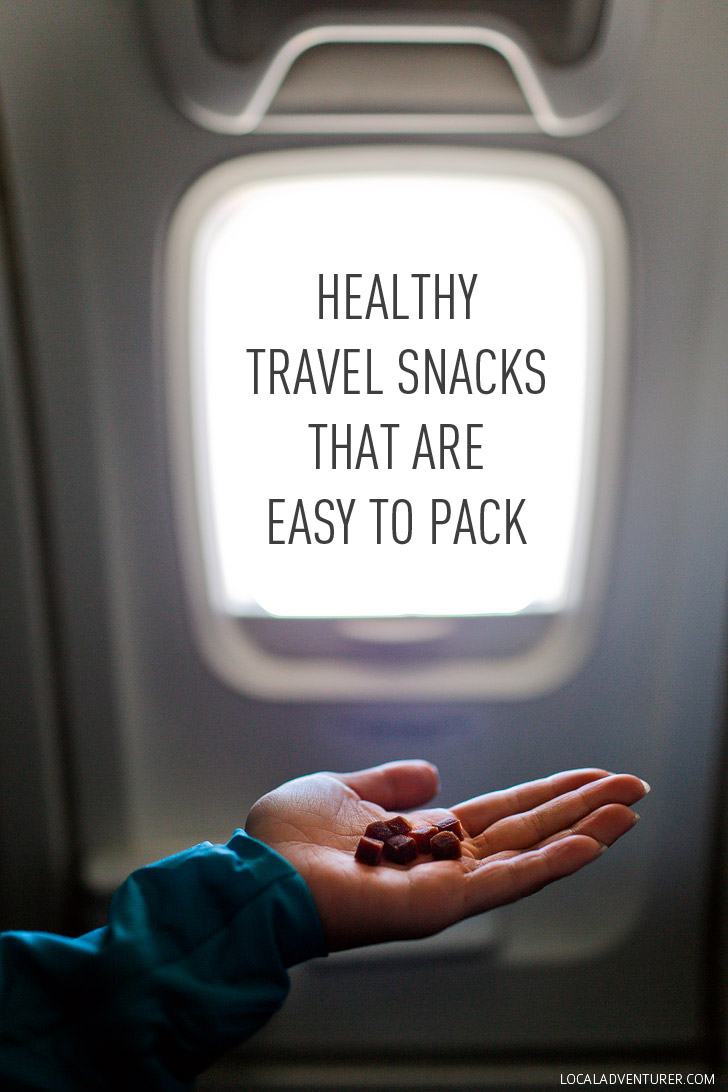 Healthy Travel Snacks That Are Easy to Pack // localadventurer.com