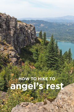 How to Hike to Angel's Rest in Oregon - Best Hikes Near Portland // localadventurer.com