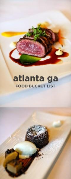 The Ultimate Atlanta Food Bucket List - 49 Best Places to Eat in Atlanta Georgia // localadventurer.com