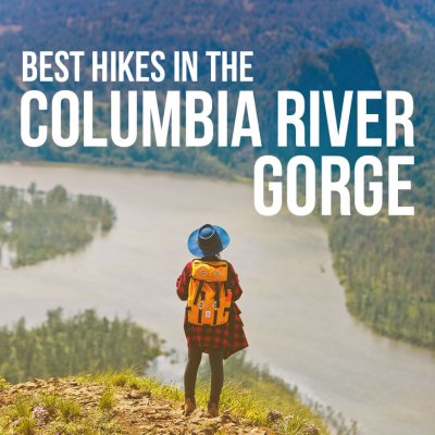 21 Amazing Hikes in the Columbia River Gorge - Best hikes Near Portland Oregon // localadventurer.com