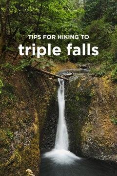 Triple Falls Hike - Columbia River Gorge Waterfall Hikes // localadventurer.com