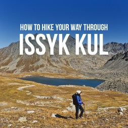 How to Hike to Boz Uchuk Lakes