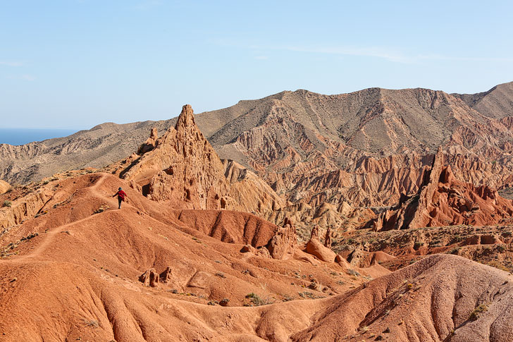 """Skazka Canyon or """"Fairy Tale Canyon"""" + 21 Remarkable Things to Do in Karakol Kyrgyzstan + Nearby Attractions // localadventurer.com"""