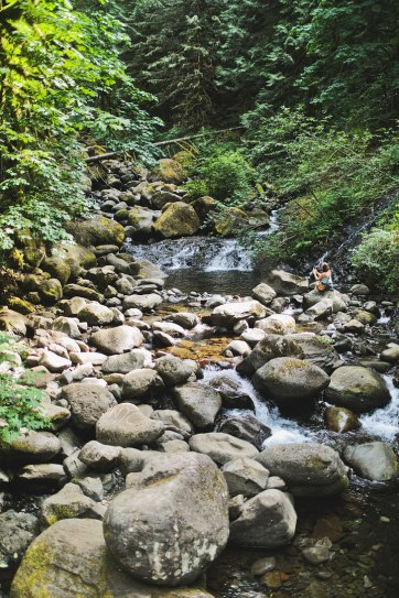 Your Essential Guide to the Triple Falls Hike, Oregon - Hiking in the Columbia River Gorge // localadventurer.com