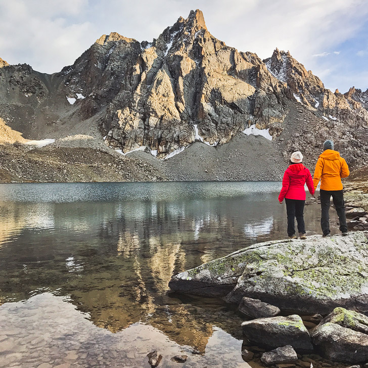 Hiking Guide to Kyrgyzstan Lakes - Upper Boz Uchuk Lake // localadventurer.com