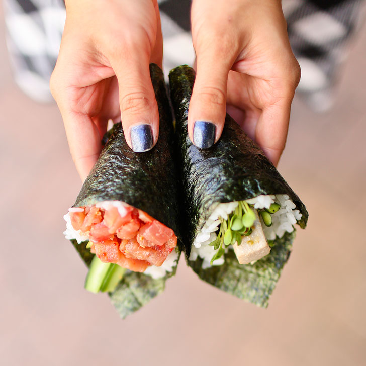 Temakira Hand Rolls + Best Places to Eat in Irvine CA // localadventurer.com