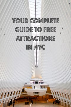 Your Complete Guide to the Free Attractions in NYC // localadventurer.com