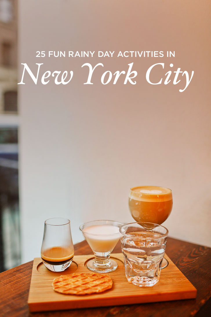 25 Best Rainy Day Activities in NYC // localadventurer.com