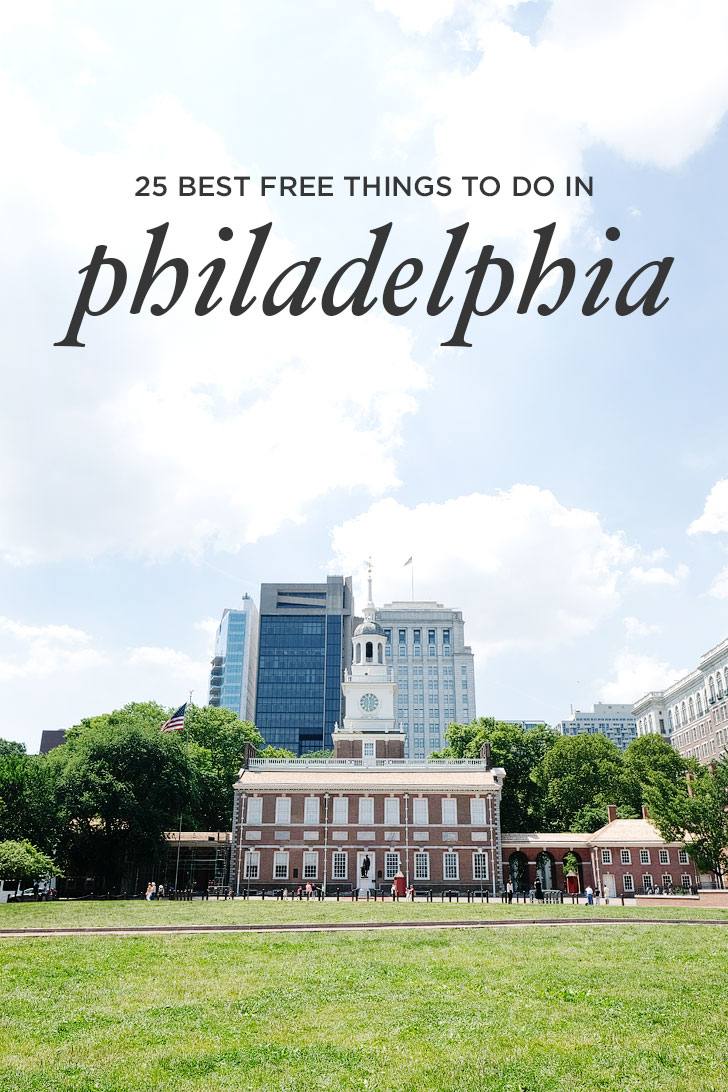 25 Free Attractions in Philadelphia Pennsylvania - Everything from Historic Sites to Brewery Tours // localadventurer.com