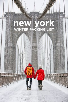 New York Packing List Winter // localadventurer.com