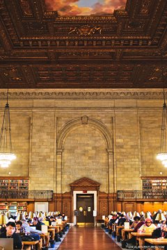 Bury your nose in a book at New York Public Library + 25 Best Things to Do Indoors in NYC // localadventurer.com