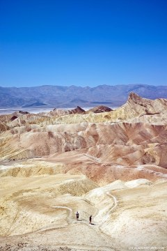 Zabriskie Point in Death Valley National Park + 15 Best Day Trips from Las Vegas By Car // localadventurer.com