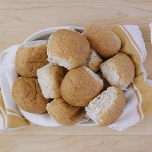 Northgate Bakery 60% Whole Wheat Dinner Rolls (12)