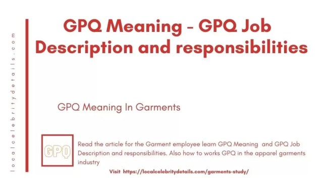 gpq meaning