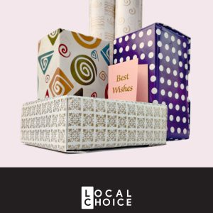 Gift Wrapping Kit by Local Choice