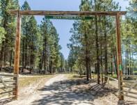 Zena Creek Ranch Gate