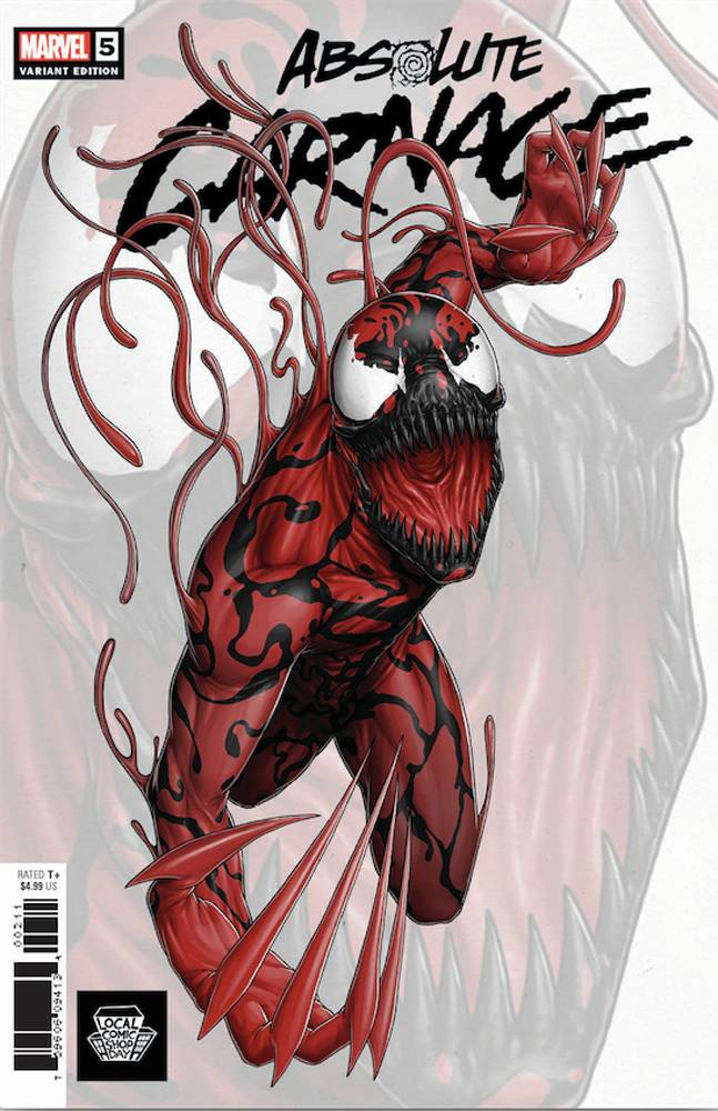 LCSD 2019 ABSOLUTE CARNAGE #5 (OF 5) LCSD ARTIST VARIANT
