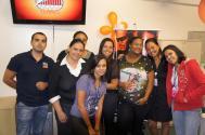Equipe BMG na comemoração da conquista