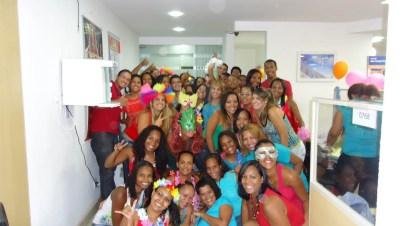 Equipe filial Salvador I (gerentes: Joel Alves e Ana Lúcia)
