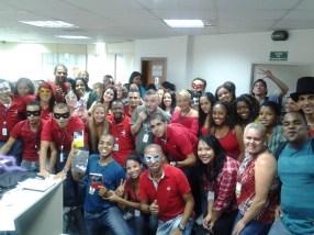 Equipe Itaucred e Fiat Região Sudeste - Fábrica II (gerente: Marcelo Pires)