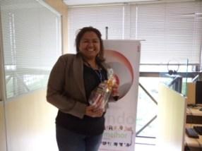 Mayra Carneiro (recuperadora premiada filial Curitiba)