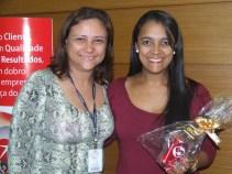 Stela Badu (coordenadora filial São Paulo 1) e Rosilda (recuperadora premiada filial São Paulo 1)